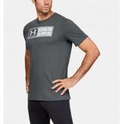 Under Armour Heren T-shirt UA Global Football Tag - Mens - Gray - Grootte: Medium