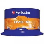 DVD-R Verbatim Matt Silver 120min. 4,7Gb 16X - 50 бр.