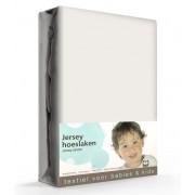 Briljant Hoeslaken Jersey 70x140/150cm Taupe