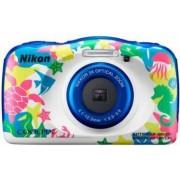 Aparat foto Compact Nikon Coolpix W100 13.2MP CMOS Marine
