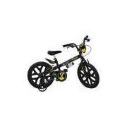 Bicicleta Infantil Bandeirante Batman Aro 16 Preta