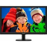 Monitor LED 24 Philips 243v5lhab/00 Full HD 5ms DVI HDMI + Boxe Black