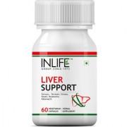 INLIFE Liver Care / Cleanse Ayurvedic Herbs 500 mg - 60 Vegetarian Capsules