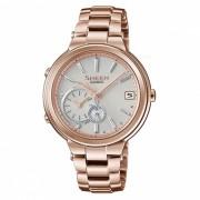 reloj de la serie del anillo del tiempo de casio SHB-200CG-9A - oro del melocoton
