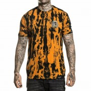 t-shirt hardcore pour hommes - ORANGE CRUSH - SULLEN - SCM2665_BAPC