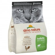 Almo Nature Holistic Anti Hairball Pollo e Riso - 2 kg