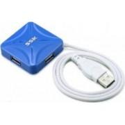 Hub UPS SSK SHU027 4 x USB 2.0 Blue