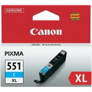 Canon ORIGINALE CANON CLI-551C XL CIANO 6444B001 PER CANON IP 7250 MG5450 MG6350 551XL CAPACITA' 11ML