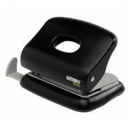 Perforator de birou, pentru maxim 20 coli, negru, RAPID Eco