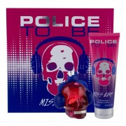 Police To Be Miss Beat подаръчен комплект EDP 75 ml + лосион за тяло 100 ml за жени