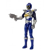 """Power Rangers Dino Super Charge 12"""" Dino Drive Blue Ranger Action Figure"""