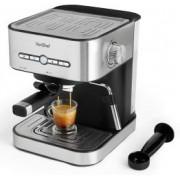 Espressor VonShef 2000103, Automat, Presiune 15 Bari, Sistem Cappucino, Filtru cafea Barista, Putere 1500W