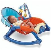 MBC 3 in 1 Multicolor Portable toddler Rocker for New Born to Toddler kids (Multicolor