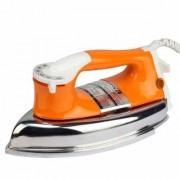 MONEX New Range Of Heavyweight Plancha 1000 W Dry Iron (Orange)