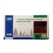 Instalatie de lumini de exterior cu 500 LED-uri, Home KKL 500/WW, Lungime 35 m, IP44, 230V, lumina albă caldă FMG-KKL500/WW