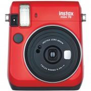 Camara Fujifilm Instax Mini 70 Instantanea Espejo Selfie - Rojo