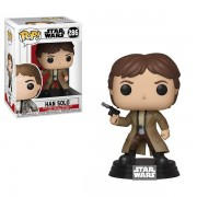 Han Solo (star Wars) Funko Pop! Bobble Head Vinyl Figure #286