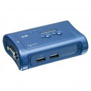 TRENDnet TK-207K Switch Conmutador 2x VGA Azul