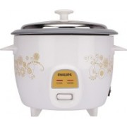 Philips HD 3042 Electric Rice Cooker(1 L, White)