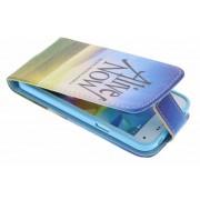 Alive now design TPU flipcase voor de Samsung Galaxy S5 Mini