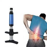 riteu Pistola de masaje eléctrica, herramienta de ajuste quiropráctico, masajeador de corrección de espalda para ajustador de escoliosis, activador columna para columna entera (4 cabezas)(1 herramienta)