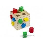 Joc de indemanare Melissa & Doug, lemn, cuburi
