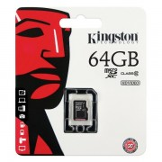 Micro SD Class 10 Kingston 64GB