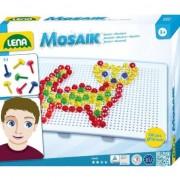 Joc Mozaic in forma de pisica, Lena, 140 elemente, 21 x 16 cm, 3 ani+