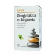 Ginkgo biloba cu magneziu 60cpr ALEVIA