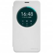 Husa Asus Zenfone 2 Laser (5.5 inch) ZE550KL NILLKIN Sparkle S-View Flip Alb