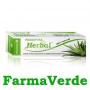 Pasta de Dinti Herbal Spumanta cu Argila,Aloe Vera Viva Natura