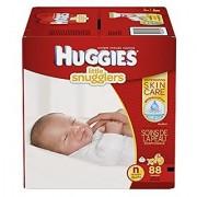 Huggies Little Snugglers Diapers - Newborn - 88 Count Packaging May Vary