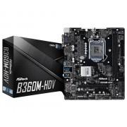 MB, ASRock B360M-HDV /Intel B360/ DDR4/ LGA1151