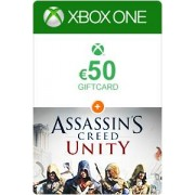 Microsoft Xbox Giftcard 50 Euro + Assassins Creed Unity Xbox one