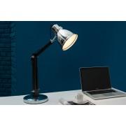 Stolná lampa INDUS, 60 cm - čierna, strieborná