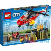 LEGO City - Sürgősségi tűzoltó egység (60108)