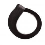 Rapunzel® Hair extensions Quick & Easy Original Glatt 1.0 Black 50 cm