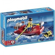 Playmobil Ocean Rescue Fire Boat Set