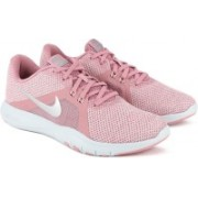 Nike FLEX TRAINER 8 Training & Gym Shoes For Women(Pink)
