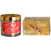 NATURE ESSENCE Gold Bleach 200gm and Pink Root Raspberry Scrub 100gm Pack of 2