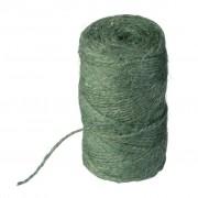 Nature jute touw groen 250 meter