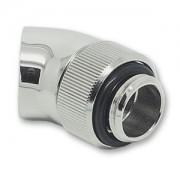Fiting adaptor rotativ EK Water Blocks EK-AF Angled 45 grade G1/4 - Nickel