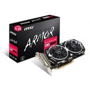 MSI Radeon RX 570 Armor 8G Graphics Board VD6851