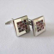 Distino Of Melbourne Formal Red Square Cufflinks C27