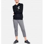 Under Armour Women's UA Rival Fleece Sportstyle Graphic Hoodie Black LG