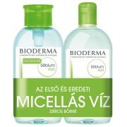 Bioderma Sébium H2O arc- és sminklemosó újratölthető, pumpás flakonnal 500ml+500ml DUO PACK