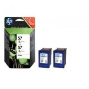 HP 57 2-pack Tri-color Original Inkjet Print Cartridges (C9503AE)