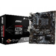MB MSI A320 AMD S-AM4/2X DDR4 2400/REQUIERE TARJETA DE VIDEO/HDMI/VGA/DVI/M.2/4X USB 3.1/MICRO ATX/GAMA BASICA