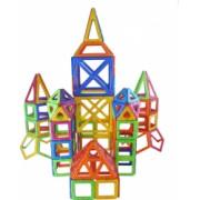Joc de constructie magnetic - 268 piese
