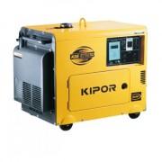 KDE 6700 TA 3 Generator electric Kipor trifazat , putere motor 5.5 kVA